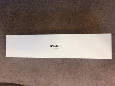 APPLE IWATCH SERIES 3 EMPTY BOX 38MM Gold Aluminum Sport Band Pink Sand