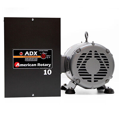 American Rotary ADX10 | 10HP 240V Wall Mount ADX Series Rotary Phase Converter