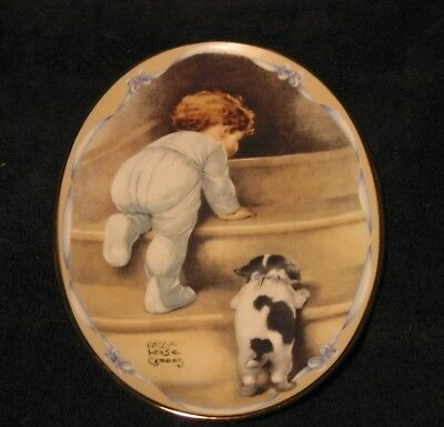 """""""Off to Bed"""" by Bessie Pease Gutmann Plate - Collector's Plate Bradford"""