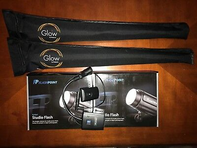 Flashpoint Complete Studio Light Kit Includes Wireless Transmitter and Receiver
