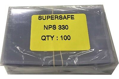 Banknotes Sleeves Fractional Size US 100 Small 5 Mil Supersafe Archival Currency