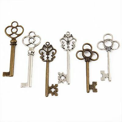 Set of 30 Old Vintage Antique Skeleton Keys Lot Small Large Furniture Lock Key