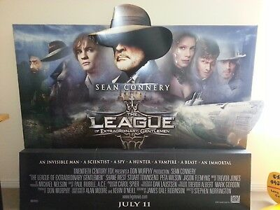 THE LEAGUE of EXTRAORDINARY GENTLEMAN  SEAN CONNERY 2003 Movie Standee
