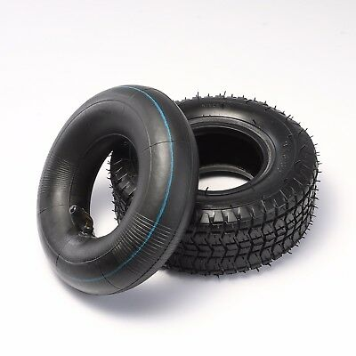 9x3.50-4, 9x350-4 Tire and Inner Tube Set For Pocket Bike Buggy ATV Quad Go kart
