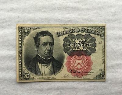 10 Cents Fractional Currency Note. !! 1849 Year.  NR.!!