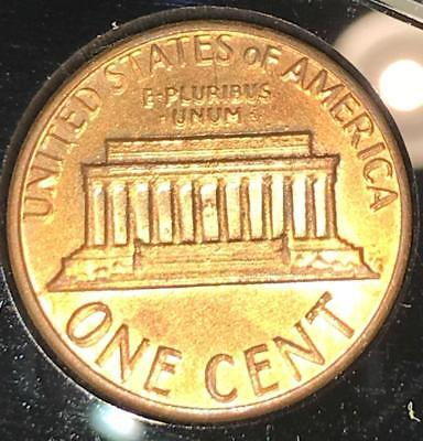 1983 Double Die Reverse ERROR Lincoln Cent Coin - Uncirculated
