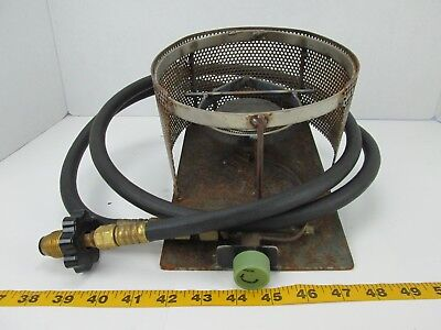 HOMEMADE PROPANE BURNER LP Stove W/ Hose Outside Cooking Camping Gas GS