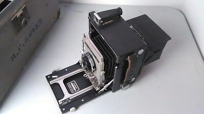 Vintage graflex speed graphic 4x5 camera and accessories