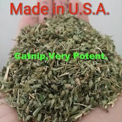 Catnip 3 full ounces Nepeta Cataria Very Potent Fresh Dried