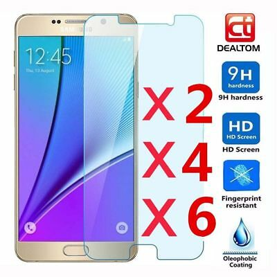 6pcs 9H Temper Glass Film Screen Protector Guard for Samsung GALAXY J1-J7 S3-S7