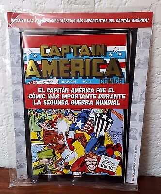 Captain America #1 1st app Mexican Sealed Pack +TOS 59 & 63 Foiled Covers!