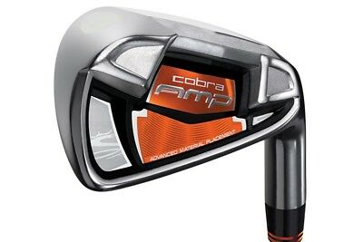 Cobra Amp No. 4 Iron - Regular Flex - Steel Shaft - Mens Right Hand - New