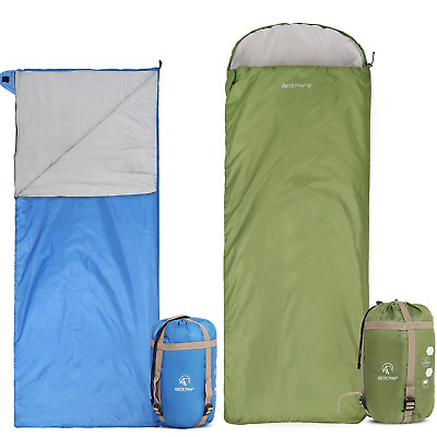 REDCAMP Ultralight Sleeping Bag Adults for Backpacking with Compression Sack