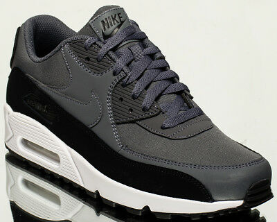 innovative design 1368a 6866f NIKE AIR MAX 90 Essential men lifestyle sneakers NEW black dark grey  537384-085