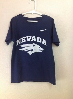NIKE Nevada WOLF PACK Short Sleeve Girls Youth T-Shirt Size Small
