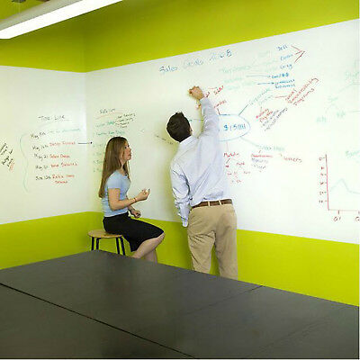 Whiteboard Sticker Removable Dry Erase Peel And Stick Message Board Home Office