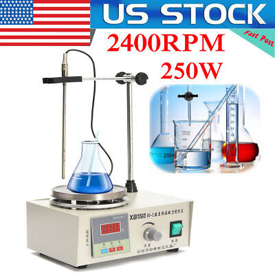 Laboratory Lab Magnetic Stirrer with Heating Plate 85-2 Hotplate Mixer 110V