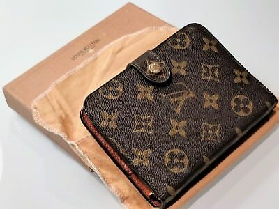 Authentic 2003 Louis Vuitton Wallet with Planner, Original Box & Bag- Exc. Cond.