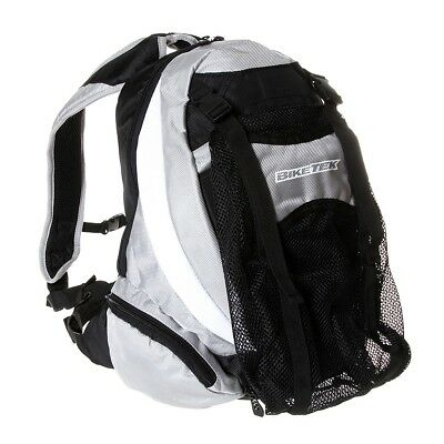 Biketek Back Pack Rucksack Helmet Storage Carrier Bag For Motorcycle Use