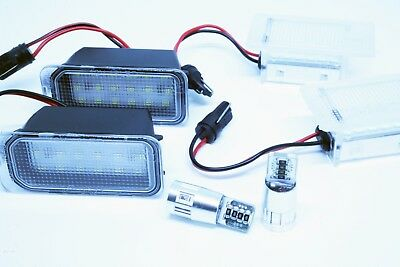 Kit Plafones De Matricula + Maletero + Intermitentes Led Ford S-Max Canbus