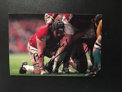 Dan Lydiate- Wales Rugby - British Lions - Hand Signed Autograph 6X4 Photo