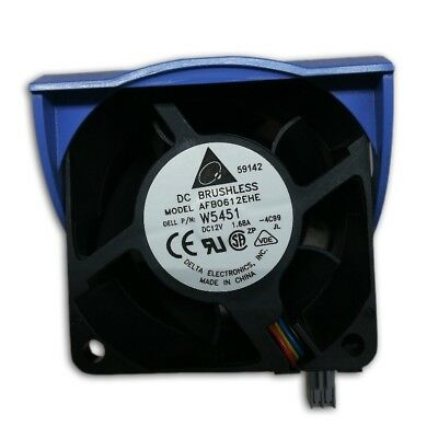 Dell W5451 AFB0612EHE DC 12V 1.68A Cooling Fan Assembly