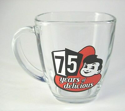 Big Boy Restaurant 75 Years of Delicious Square Glass Mug by Libbey