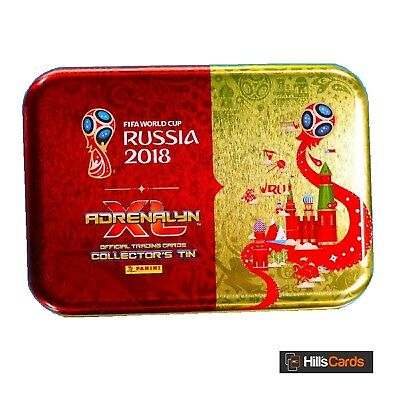 Fifa World Cup 2018 Adrenalyn XL Football Trading Cards: Pocket Tin