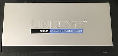Switch Linksys SR224G 24P unmanaged - Business Serie