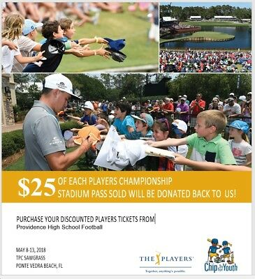 The Players Any Day Stadium Tickets 2018 The Players Championship