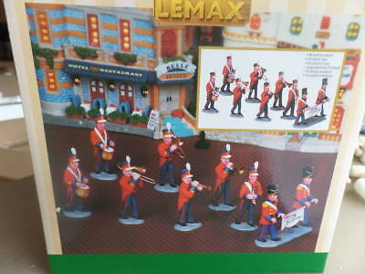 Lemax 8 Piece Marching Christmas Band