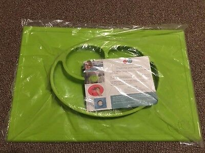 The Original ezpz Happy Mat Lime Green, New in Package