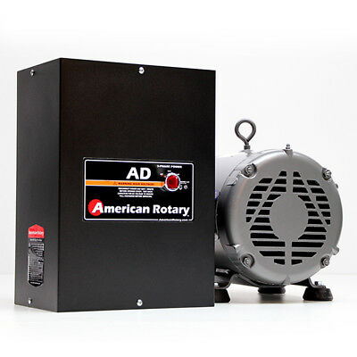 American Rotary AD25 | 25HP 240V Wall Mount AD Series Rotary Phase Converter