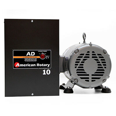 American Rotary AD10 | 10HP 240V Wall Mount AD Series Rotary Phase Converter