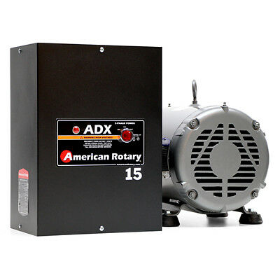 American Rotary ADX15 | 15HP 240V Wall Mount ADX Series Rotary Phase Converter