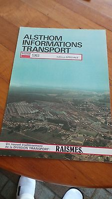 Alsthom Informations Transports - Edition Speciale