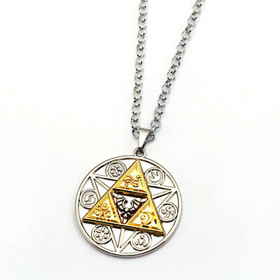 Anime Game The Legend of Zelda Link Metal Pendant Necklace Cosplay Chain Gifts