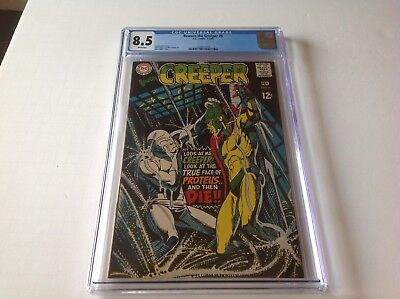 Beware The Creeper 5 Cgc 8.5 White Pgs Steve Ditko Cool Cover Dc Comics