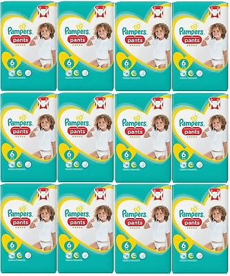Pampers Premium Protection Pants Größe 6 Extra Large, 15+ kg, 16 bis 192 Windeln