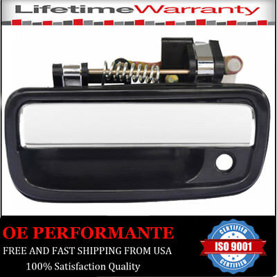 1Pcs Door Handle for 95-04 Toyota Tacoma Black Exterior Front Left Driver Side