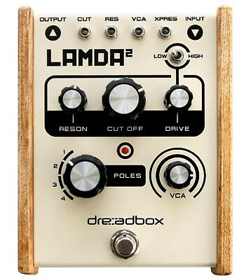 "Dreadbox ""Lamda²"" resonanzfähiger 24db 4pol Filter - neu"