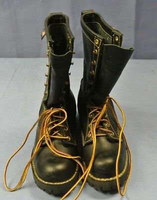 Danner 18000 Fire Fighting Leather Boot Size 8 1/2 ( 232456-1 )*
