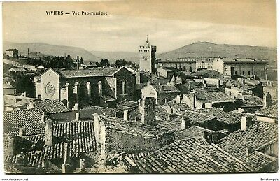 CPA -Carte postale-  France - Viviers - Vue Panoramique (CP1030)