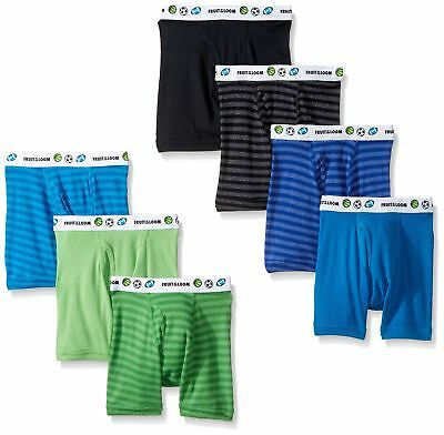 Fruit of the Loom Boys' Toddler 7 Pack Assorted Boxer Brief standard 4T/5T
