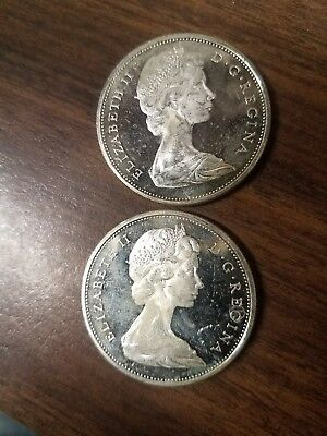 1965 canadian silver dollars