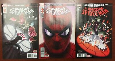 Amazing Spider-Man 795 796 797 1st Print Red Goblin See 12 Pics NM or Better
