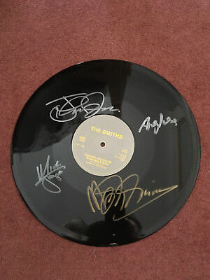 The Smiths Signed Record - Signed by Whole Band!! Heaven Knows... With Proof!!