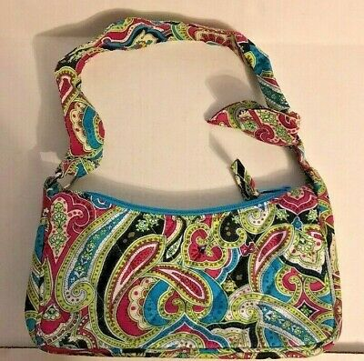 e9cc230b15ae Vera Bradley Limited Edition Shoulder Bag Silk Paisley Daphne Retired