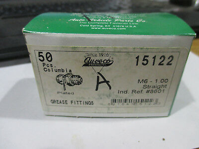 Auceco grease fittings #15122 box of 50 M6-1.00