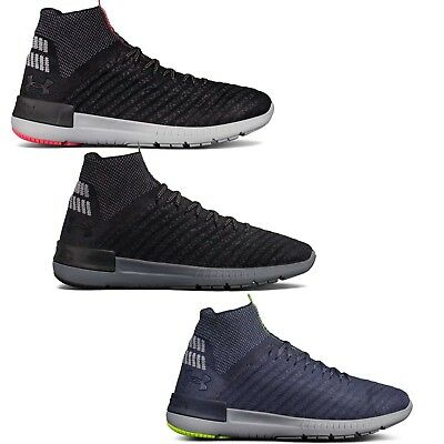 newest a6d1f 11739 UNDER ARMOUR MEN'S UA Highlight Delta 2 Running Shoes Black White Sneakers
